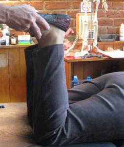 Hoy Chi Checking Feet